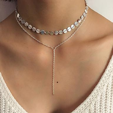 Pentru femei Lux Boem Aliaj Coliere Layered - Aliaj Personalizat Lux Ciucure Clasic Boem Elegant Modă stil minimalist Rotund Altele