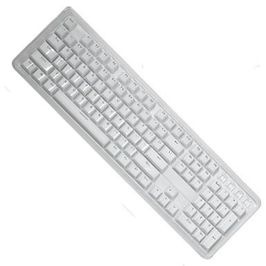 الكريستال لونين ضوء انتقال عبس كيكاب 104 مفاتيح تعيين لوحة المفاتيح الميكانيكية
