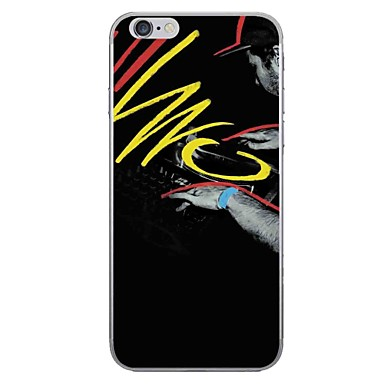 Caz pentru Apple iPhone 7 7 plus coperta caz cu cuvinte model hd pictat gros tpu material caz moale caz telefon pentru iphone 6s 6 plus