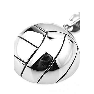 Pentru femei Pandative Circle Shape Oțel titan Argilă Geometric La modă Personalizat stil minimalist Metalic Bijuterii Pentru Zilnice
