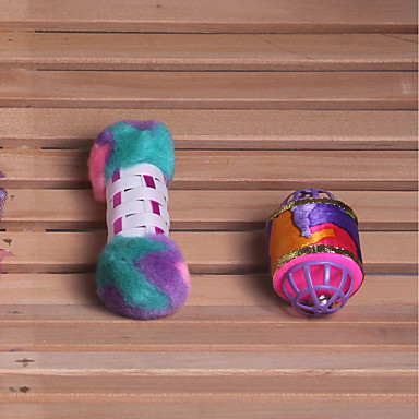 Jucării pluș Durabil Plastic / Bumbac Pentru Jucărie Pisică / Jucării Cățel