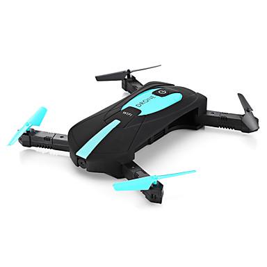 RC Dronă JY 018 4 Canal 6 Axe 2.4G Camera HD 720P 2.0MP Quadcopter RC O Tastă Pentru întoarcere / Headless Mode / Cu Susul în Jos De Zbor Quadcopter RC / Telecomandă / 1 Stație de Încărcare