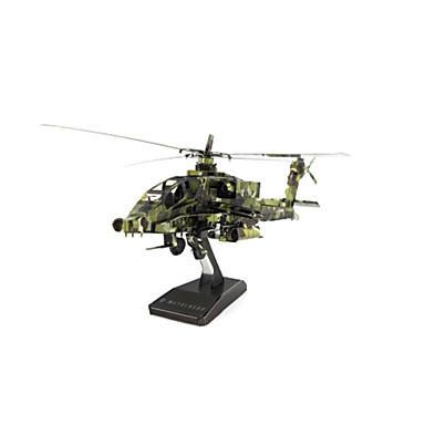 Legpuzzel Metalen puzzels Helikopter Speeltjes Vliegtuig Vechter Helikopter 3D DHZ Inrichting artikelen Roestvrijstaal Kuiper Metaal Niet