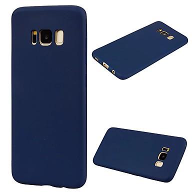 Maska Pentru Samsung Galaxy S8 Plus S8 Ultra subțire Carcasă Spate Culoare solidă Moale TPU pentru S8 S8 Plus S7 edge S7 S6 edge S6