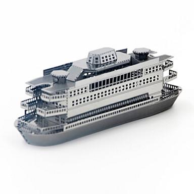 قطع تركيب3D تركيب تركيب معدني سفينة 3D اصنع بنفسك الفولاذ المقاوم للصدأ معدن للجنسين هدية