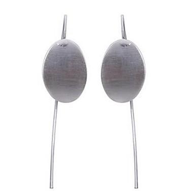 Damen Tropfen-Ohrringe Modisch individualisiert überdimensional Aleación Ovale Form Schmuck Für Normal Verabredung Klub