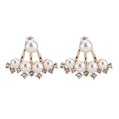 Pentru femei Cercei Stud Imitație de Perle La modă Elegant Imitație de Perle Aliaj Triangle Shape Bijuterii Pentru Zilnic Casual Oficial