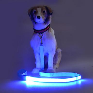 Câine Lese Bliț / Siguranță Mată Terilenă Verde / Albastru / Roz