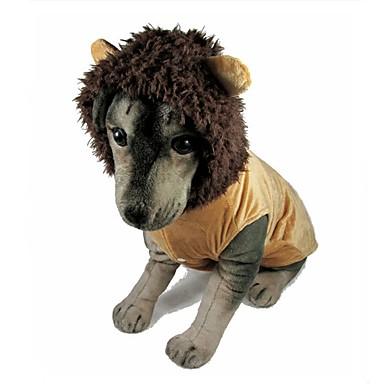 Hond kostuums Hondenkleding Casual/Dagelijks Effen Bruin Kostuum Voor huisdieren
