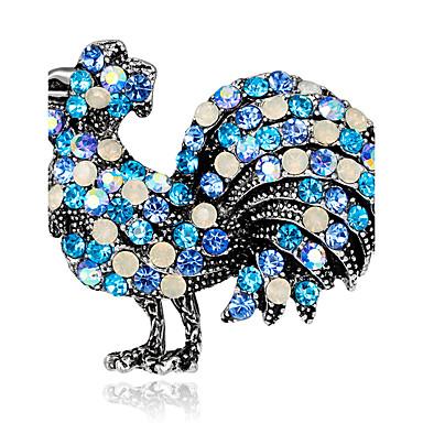 Damen Broschen Strass Personalisiert Luxus Klassisch Retro Grundlegend Elegant Modisch Simple Style Krystall Diamantimitate Aleación