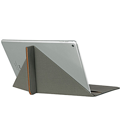 Maska Pentru Apple Titluar Card Cu Stand Întoarce Corp Plin Culoare solidă Greu PU Piele pentru iPad Pro 9.7 '' iPad Air 2 iPad Air
