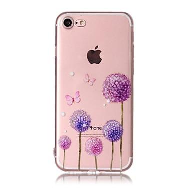hoesje Voor Apple Patroon Achterkantje Paardebloem Zacht TPU voor iPhone 7 Plus iPhone 7 iPhone 6s Plus iPhone 6 Plus iPhone 6s Iphone 6