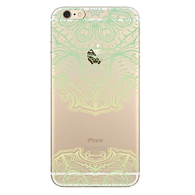 Caz pentru iphone 7 7 plus model de flori tpu soft back cover pentru iphone 6 plus 6s plus iphone 5 se 5s 5c 4s