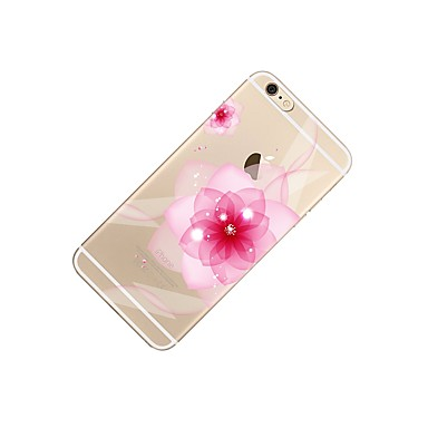 iPhone 06132841 Morbido Custodia iPhone per 6s Per disegno iPhone decorativo Plus iPhone Fiore 7 iPhone 7 7 Plus Transparente Per Apple retro 7 Plus Fantasia TPU E4qf6T4w