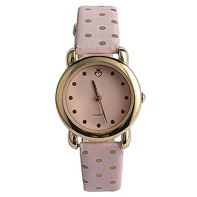 Pentru femei Ceas La Modă Ceas de Mână Japoneză Quartz / PU Bandă Casual Elegant Pink