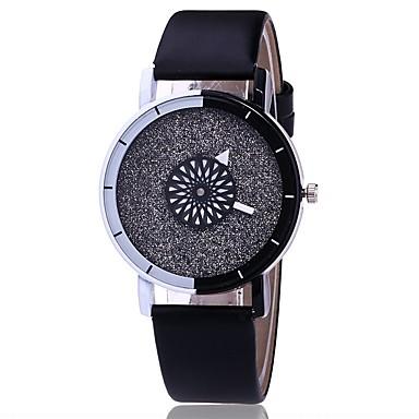 Pentru femei Quartz Ceas de Mână Chineză Ceas Casual PU Bandă Charm Casual Unic Watch Creative Ceas Elegant Elegant Modă Negru Alb