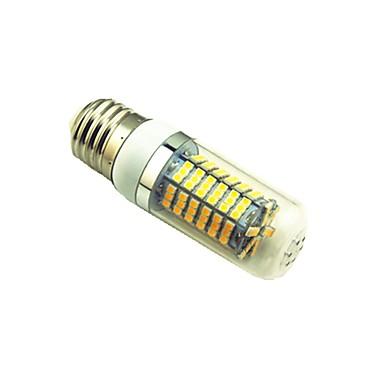 5W 700 lm E27 Becuri LED Corn T 144 led-uri SMD 2835 Alb Cald Alb AC220