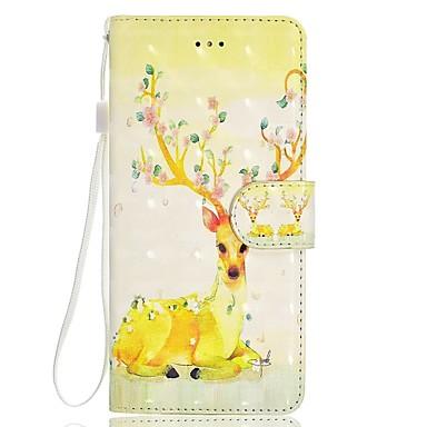 غطاء من أجل Samsung Galaxy S8 Plus S8 محفظة حامل البطاقات مع حامل قلب نموذج مغناطيس كامل الجسم حيوان كارتون زهور قاسي جلد اصطناعي إلى S8