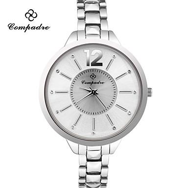 Pentru femei de Copil Ceas de Mână Ceas La Modă Quartz Aliaj Bandă Casual Argint