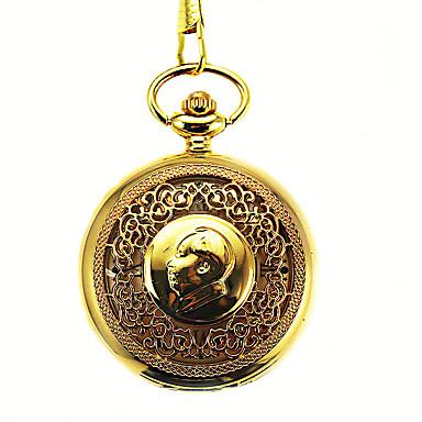 Bărbați Ceas de buzunar Quartz Aliaj Bandă Auriu