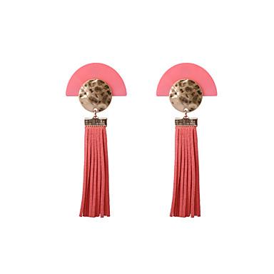 Damen Tropfen-Ohrringe Schmuck individualisiert zweifarbig Böhmen-Art Acryl Aleación Schmuck Schmuck FürHochzeit Sonstiges Alltag Normal