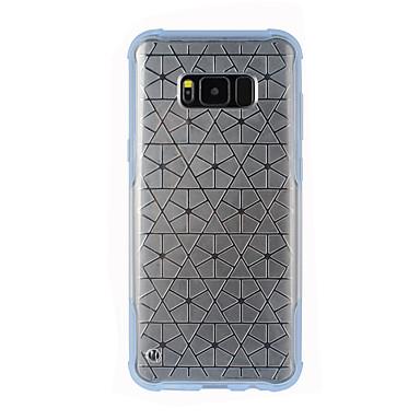 Maska Pentru Samsung Galaxy S8 Plus S8 / Dirt / șoc Dovada apă Transparent Capac Spate Transparent Moale TPU pentru S8 Plus S8