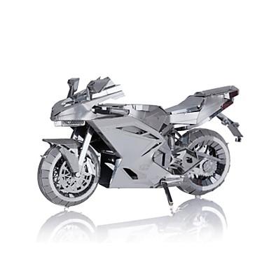 Speelgoedauto's Metalen puzzels Speeltjes Motorfietsen 3D DHZ Legering Niet gespecificeerd Stuks