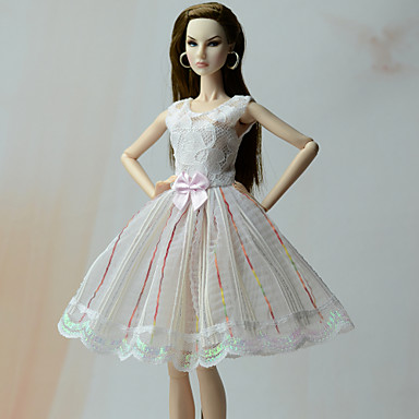 Princess الفساتين فساتين إلى الدمية باربي فساتين إلى لفتاة دمية لعبة