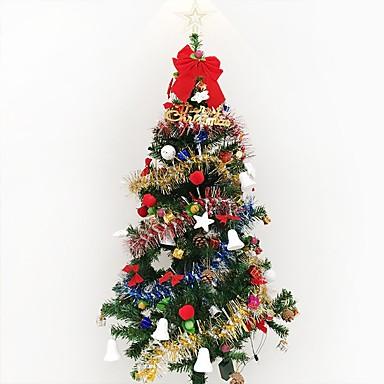 1pc 1,5 m / 150cm criptare de lux Crăciun copac decorat suită cameră de zi pachete hotel Crăciun nou an gif