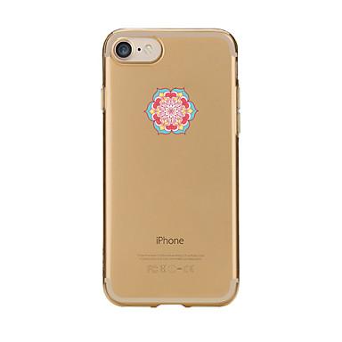 Caz pentru iphone 7 6 mandala tpu soft ultra-subțire spate cover case acoperă iphone 7 plus 6 6s plus se 5s 5 5c 4s 4