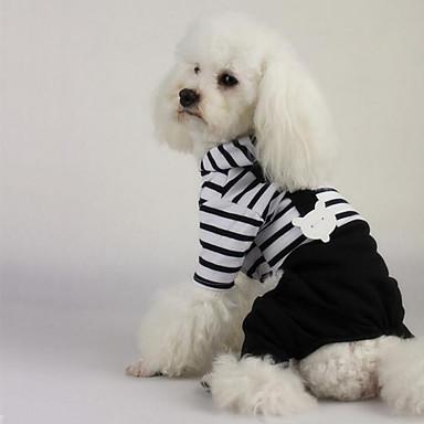 Câine Salopete Hamuri Îmbrăcăminte Câini Casul/Zilnic Dungi