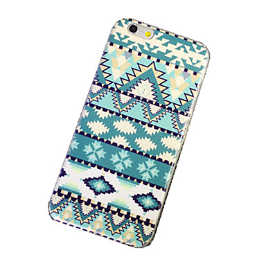 Capinha Para iPhone 6 iPhone 6 Plus Ultra-Fina Estampada Capa Traseira Estampa Geométrica Macia TPU para iPhone 6s Plus iPhone 6 Plus