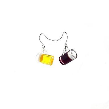 Pentru femei Cercei Picătură Personalizat Modă Reșină Plastic Bijuterii Ca în Poză Zilnic Casual Club Stradă Costum de bijuterii