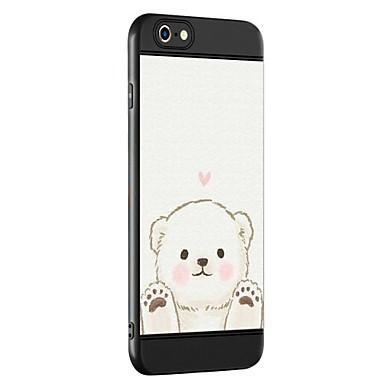 Hoesje voor apple iphone 7 7 plus case hoesje draag patroon verdikking tpu materiaal spuit telefoon hoesje voor iphone 6 6s 6 plus 6s plus