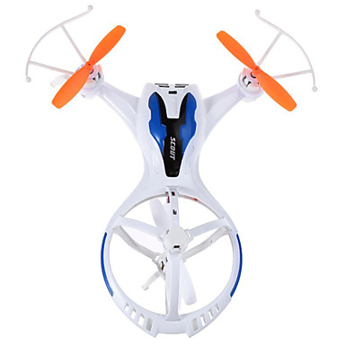 RC Dronă TKKJ M71 4 Canal 2.4G Fără camera Quadcopter RC Lumini LED Quadcopter RC Cablu USB Șurubelniță Lame