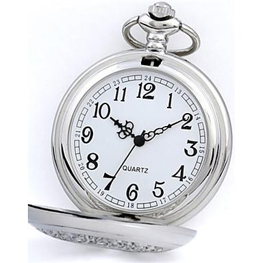 Pentru femei Ceas de buzunar Quartz Aliaj Bandă Argint
