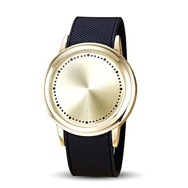 Bărbați Pentru copii Unic Creative ceas Ceas de Mână Ceas La Modă Ceas Sport Chineză Quartz Touch Screen Rezistent la Apă LED Punk Piele