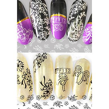 2 Nail Art autocolant Model 3-D Consumabile DIY machiaj cosmetice Nail Art Design
