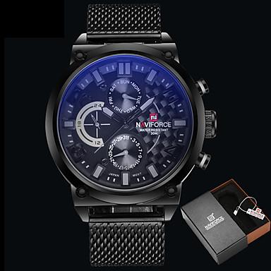 Herrn Einzigartige kreative Uhr Kleideruhr Modeuhr Armbanduhren für den Alltag Chinesisch Quartz Wasserdicht Legierung Band Luxus Kreativ