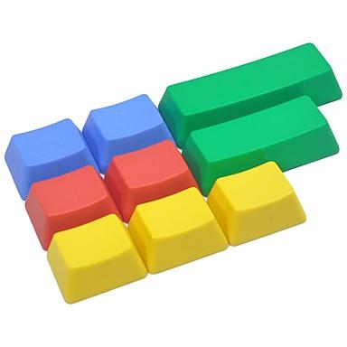 9 مفاتيح بت كيكاب الملونة مجموعة لوحة المفاتيح الميكانيكية لا المطبوعة