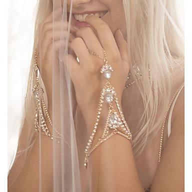 04448cecd8 cheap Bracelets-Women's Ring Bracelet / Slave bracelet Drop Slaves Of