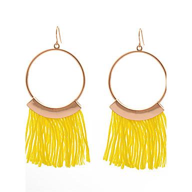 Pentru femei La modă Personalizat Confecționat Manual Metalic Aliaj Circle Shape Bijuterii Pentru Zilnic Stradă Ieșire Club