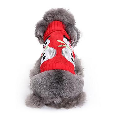 كلب البلوزات ملابس الكلاب عيد الميلاد عيد الميلاد المجيد