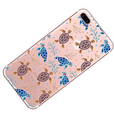 Custodia Plus Transparente per disegno Fantasia 7 iPhone 06086865 iPhone Morbido 7 iPhone 7 Animali iPhone Apple iPhone 7 Per TPU Plus Per retro rqFUxr