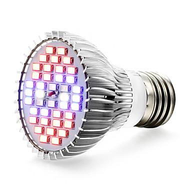 1kpl 650 lm E27 Kasvavat valonheittimet 40 ledit SMD 5730 UV Sininen Punainen AC 85-265V