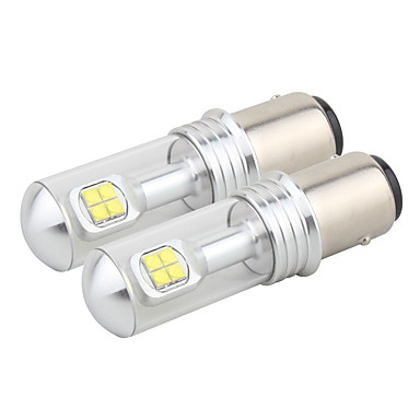 2 stuks 1157 / h4 40w 8led mistlampen 6000k drl draaien signalen gloeilampen daglicht licht stuurlicht staart licht dc12-24v