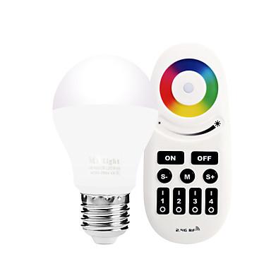 6W 600 lm E27 مصابيح صغيرة LED A60(A19) 20 الأضواء SMD 5730 Wifi الأشعة تحت الحمراء الاستشعار تخفيت التحكم في الإضاءة أب التحكم جهاز تحكم
