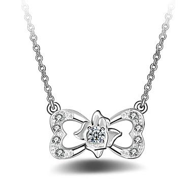 Pentru femei Fluture Clasic Modă Coliere cu Pandativ Diamant sintetic Aliaj Coliere cu Pandativ . Petrecere Zilnic Serată Scenă