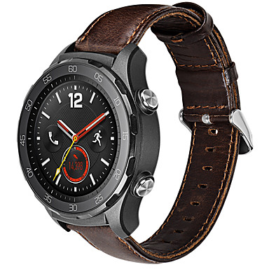 Pentru hoco huawei watch2 din piele naturală ceas de sport ceas 20mm maro&cafea