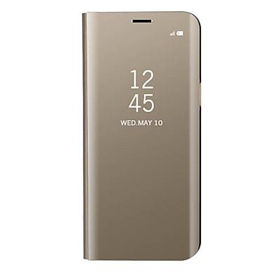 Hülle Für Samsung Galaxy J7 (2017) J3 (2017) Beschichtung Spiegel Flipbare Hülle Ganzkörper-Gehäuse Volltonfarbe Hart Metal für J7 Prime